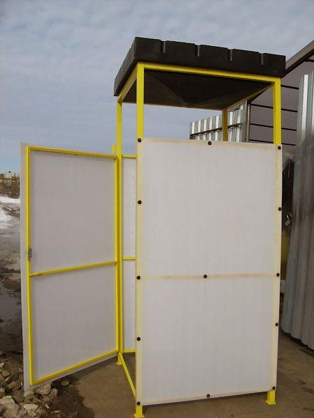 Душевая кабина на даче из поликарбоната своими руками фото 983
