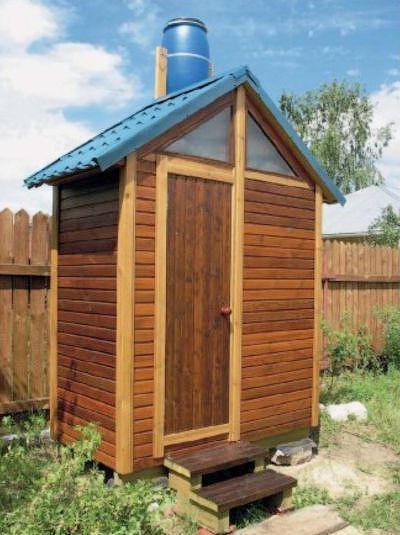 душевая кабина для дачи садовые