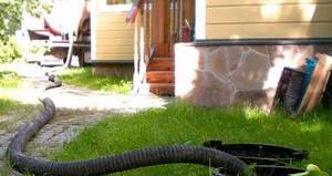 как очистить выгребную яму в частном доме