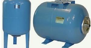как выбрать гидроаккумулятор для систем водоснабжения