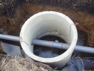 устройство канализации в бане