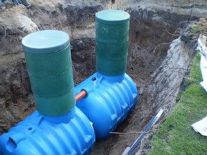 пластиковые отстойники для канализации