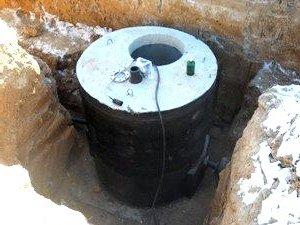 герметизация бетонных колец для септика