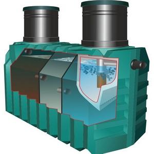 устройство септика танк