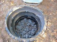 Слив канализации в частном доме