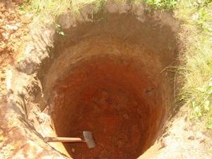 котловая для ямы из шин