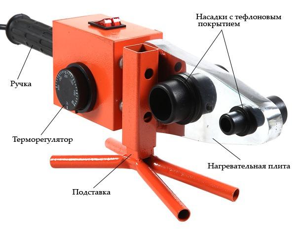 ручной сварочный аппарат для полипропиленовых труб