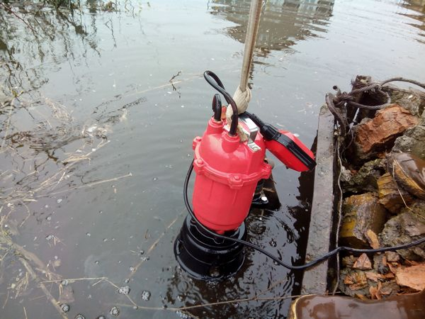 насос для откачки грязной воды