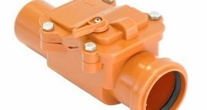 обратный клапан для канализации