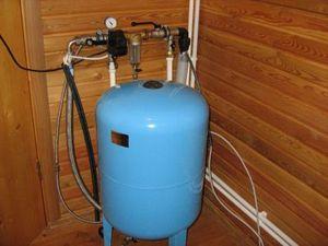 схема подключения гидроаккумулятора для систем водоснабжения