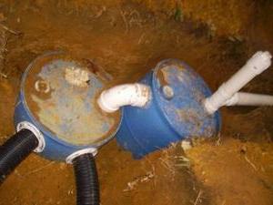 канализация на даче своими руками из бочки