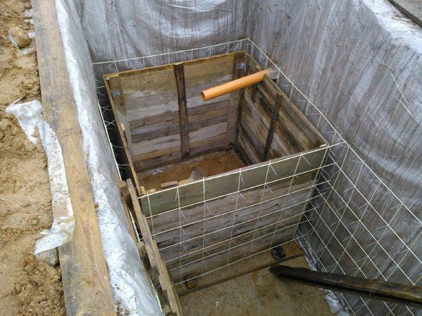 Выгребная яма без откачки своими руками — инструкция по строительству