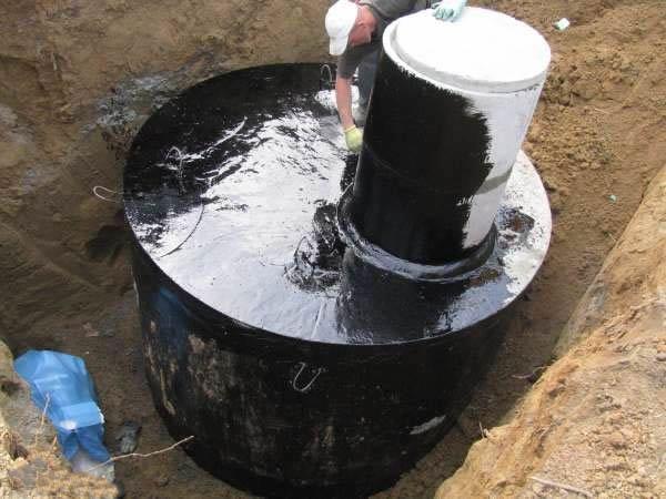 выгребная яма своими руками из бетонных колец