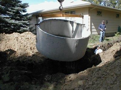 Выгребная яма из бетонных колец своими руками