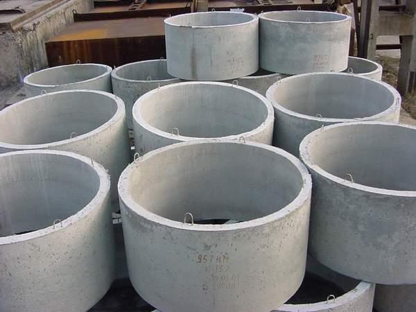 Бетонные кольца для канализации сделать своими руками