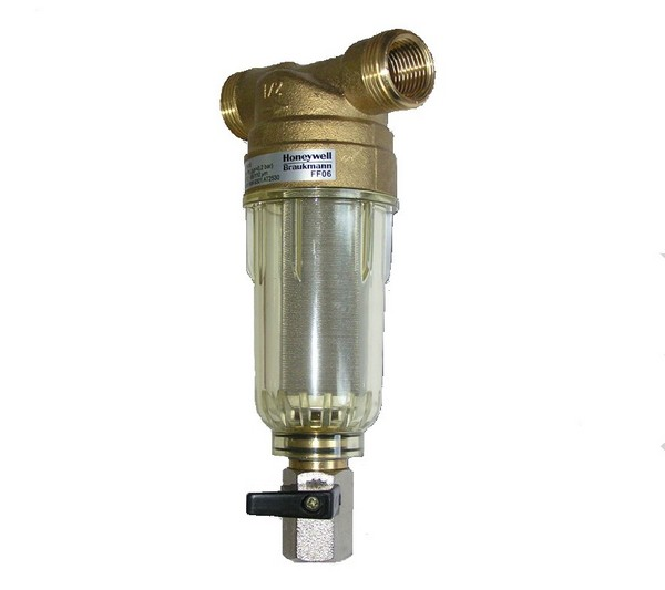сетчатый фильтр грубой очистки воды промывной