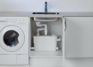 насос для канализации в квартире для кухни