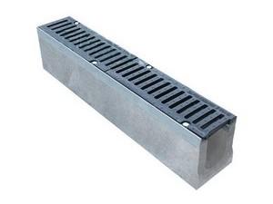 лоток водоотводной бетонный с решеткой