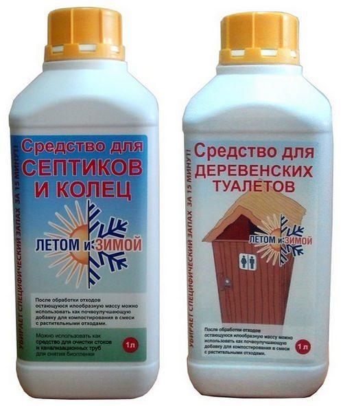 средство для чистки выгребных ям