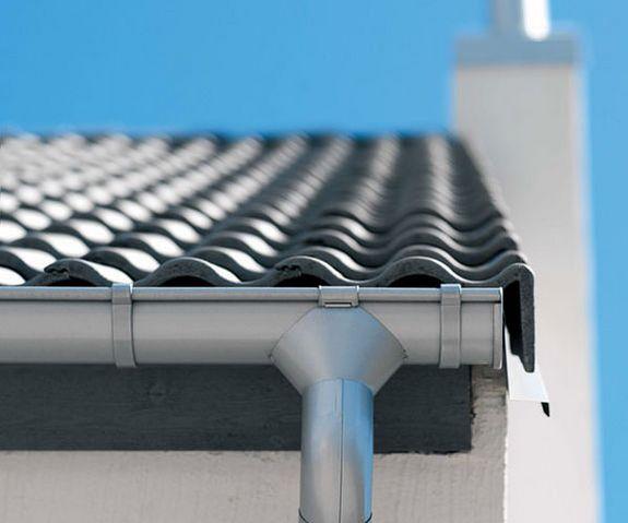 Как сделать водосток с крыши из оцинковки своими руками