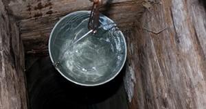 очистка воды из колодца на даче