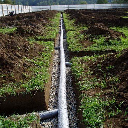 дренаж участка своими руками на торфяных почвах