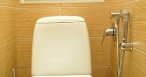 гигиенический душ для унитаза со смесителем
