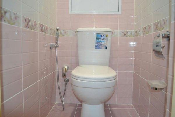 встроенный смеситель для душа в туалете