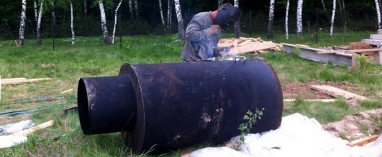 как сделать кессон для скважины своими руками