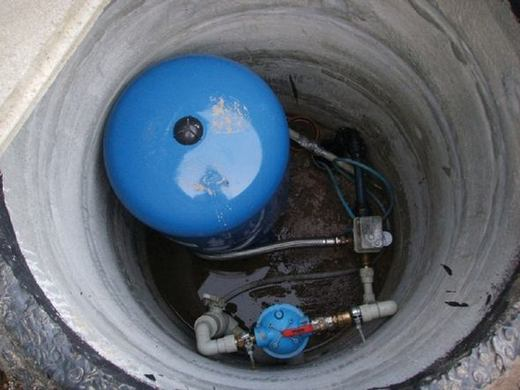 кессон для скважины из бетонных колец
