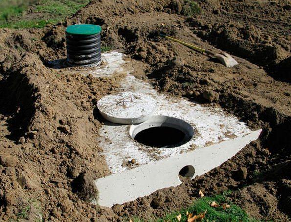 канализация из монолитного бетона