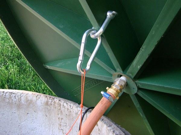 крышка пластиковая для бетонных колодцев egida