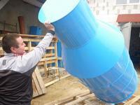 пластиковые кессоны для скважин