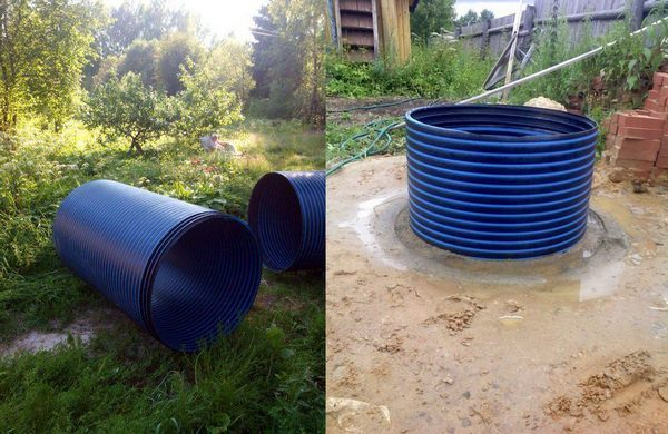 пластиковые колодцы для воды