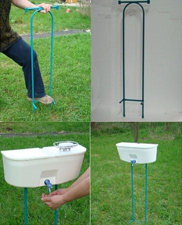 пластиковый рукомойник для дачи