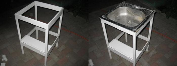 как сделать умывальник на даче своими руками