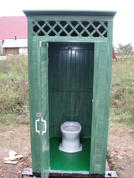 Свет в дачном туалете своими руками 24