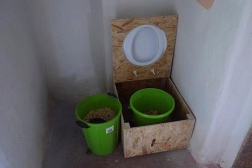 унитаз для дачного туалета своими руками