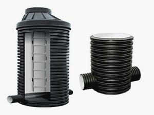 устройство канализационных колодцев