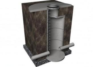 устройство канализационного колодца из бетонных колец