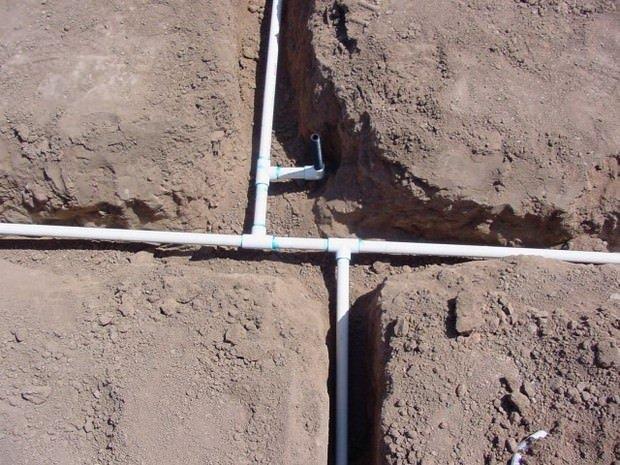 монтаж летнего водопровода на даче трубами