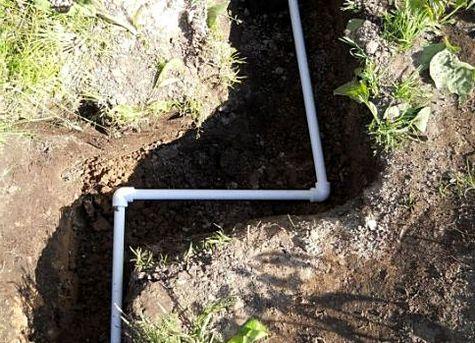 полипропиленовые трубы для водопровода на даче