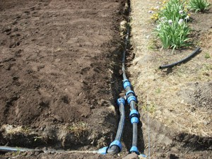 система полива на даче из пластиковых труб