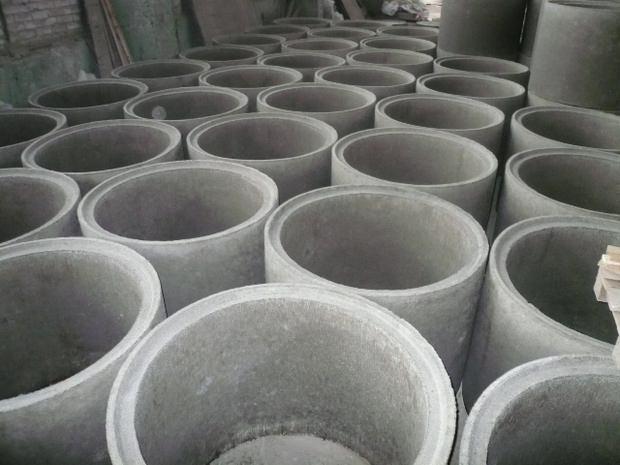 бетонные кольца с замком