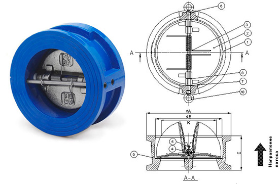 Клапан для водяного насоса своими руками 5