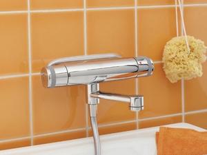 смеситель с термостатом для ванной с душем