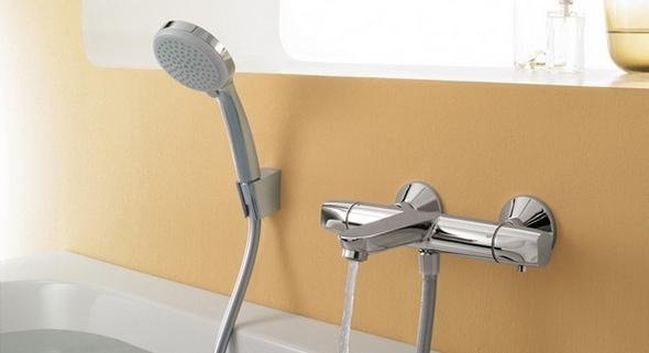 smesitel s termostatom dlya vannoj s dushem 2 - Смеситель с термостатом для ванной с душем: виды, устройства, принцип работы