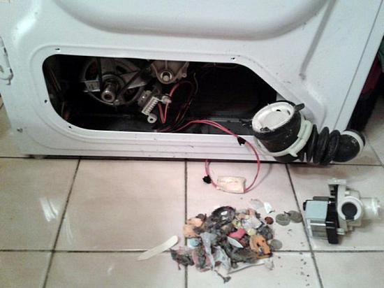 стиральная машина автомат не сливает воду