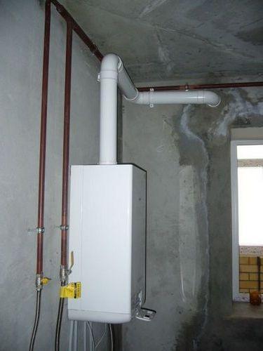 Турбированная газовая колонка без дымохода