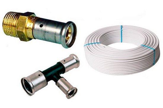 фитинги для металлопластиковых труб отопления